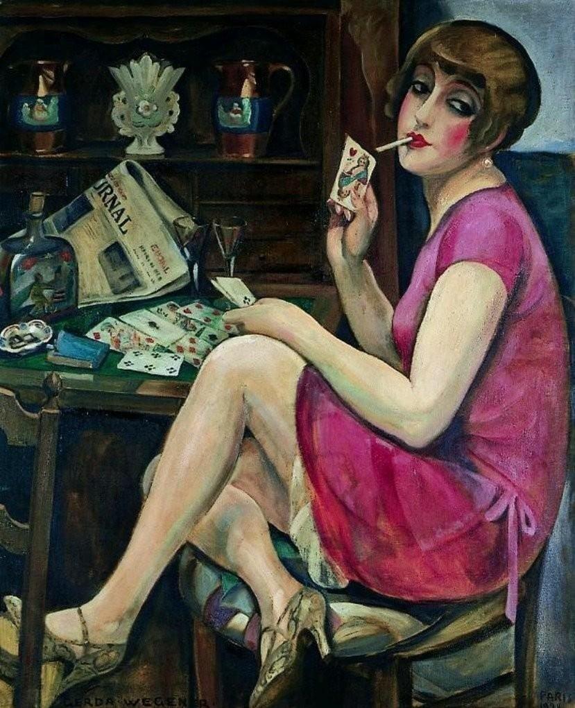 Gerda Wegener art