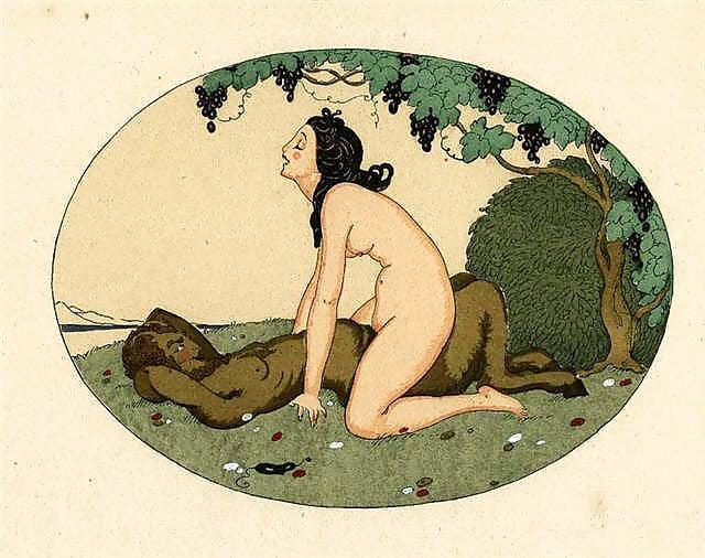 gerda wegener erotic satyr