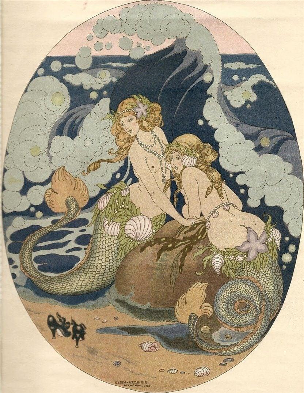 gerda wegener mermaids