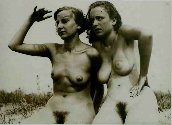 Gerhard Riebicke two nudes