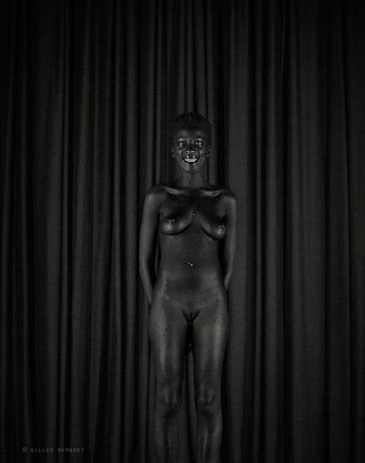 Gilles Berquet black nude