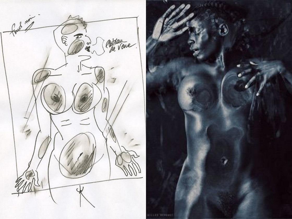 Gilles Berquet drawing