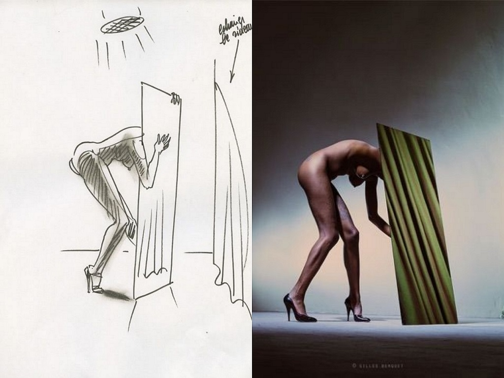 Gilles Berquet drawing and picture
