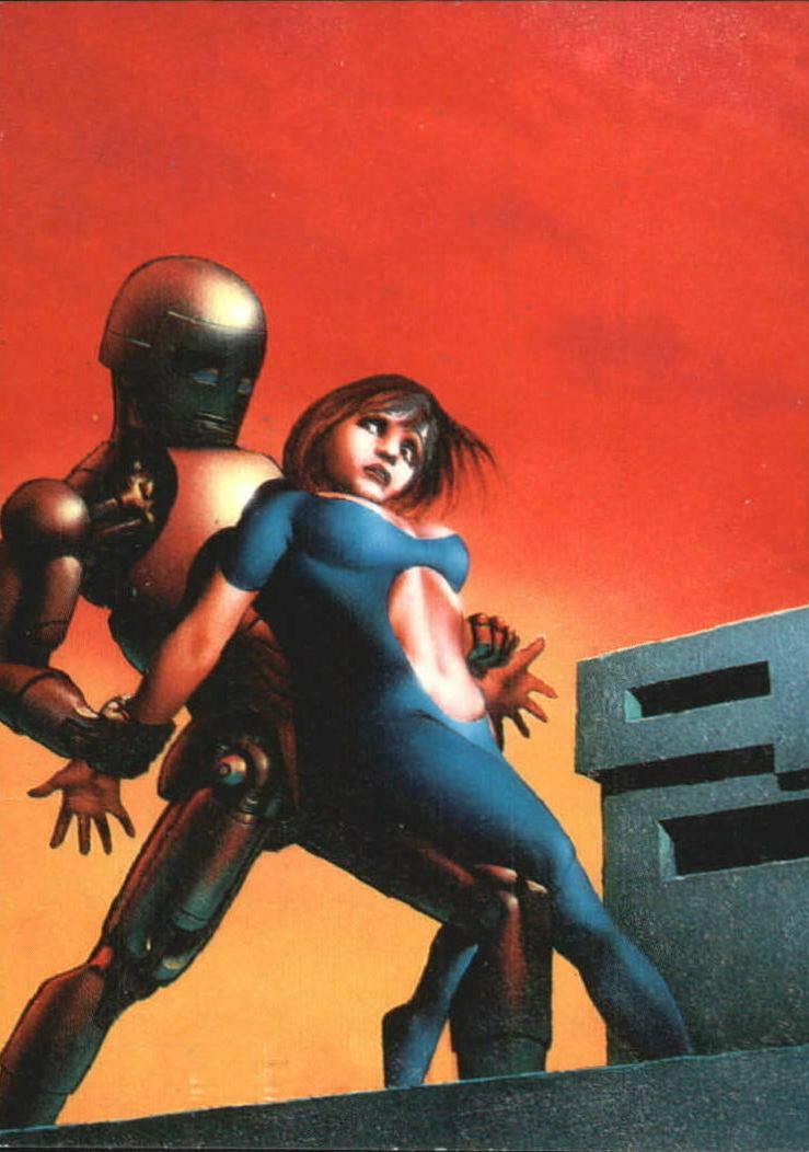 Golden Robot and the Blue Girl Richard Corben
