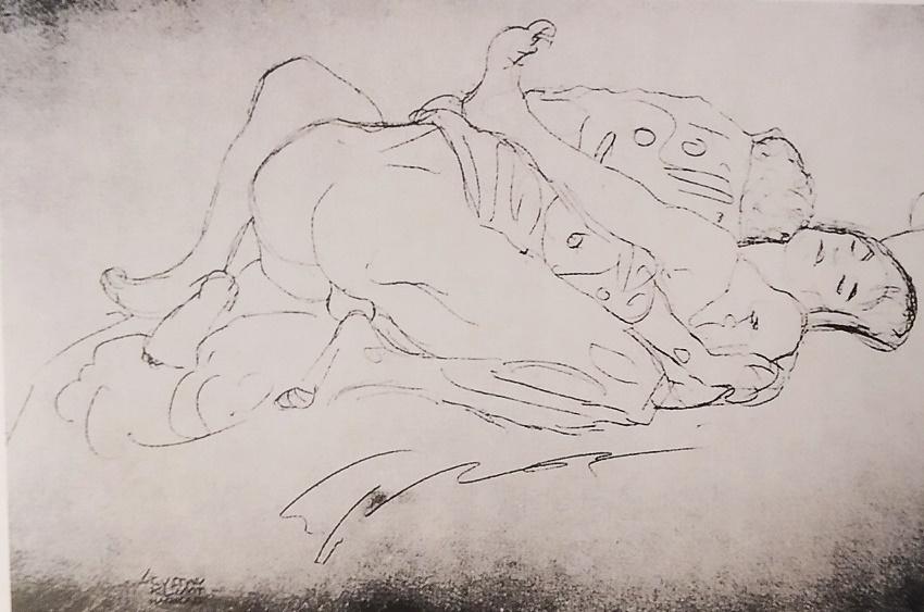 gustav klimt erotic drawings