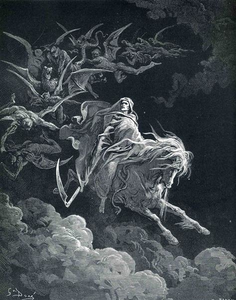 gustave dore the vision of death