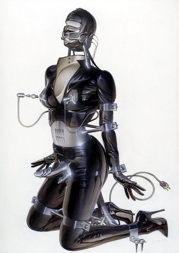 Hajime Sorayama erotic
