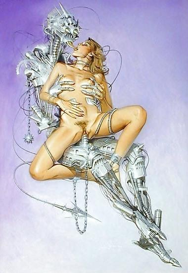 hajime sorayama erotic robot