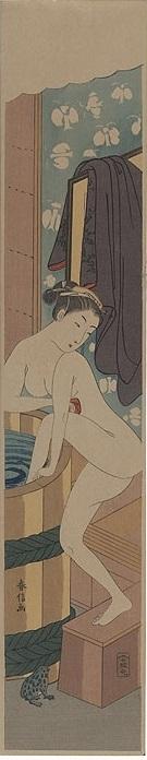 Harunobu Pillar print