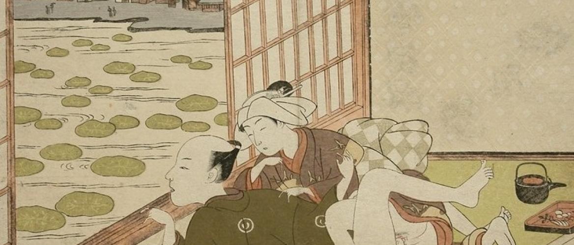 Suzuki Harunobu: The Transition to Multi-Colour Printing