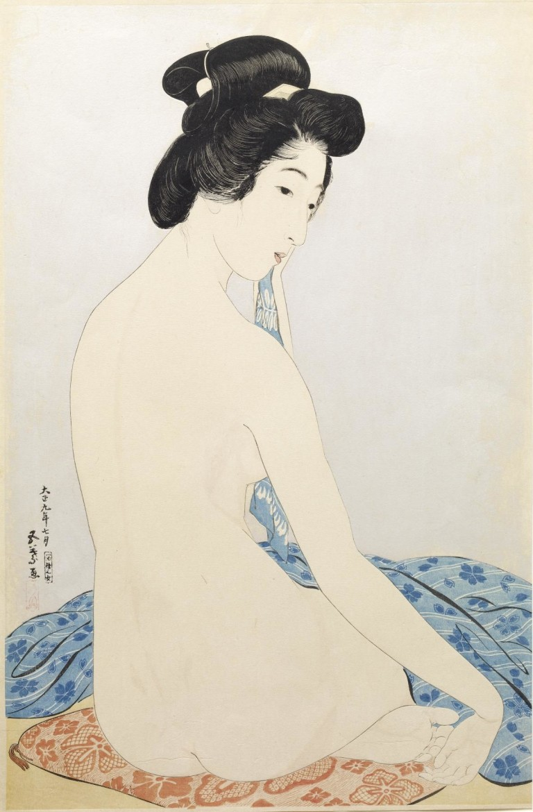 Hashiguchi Goyo Woman after the Bath