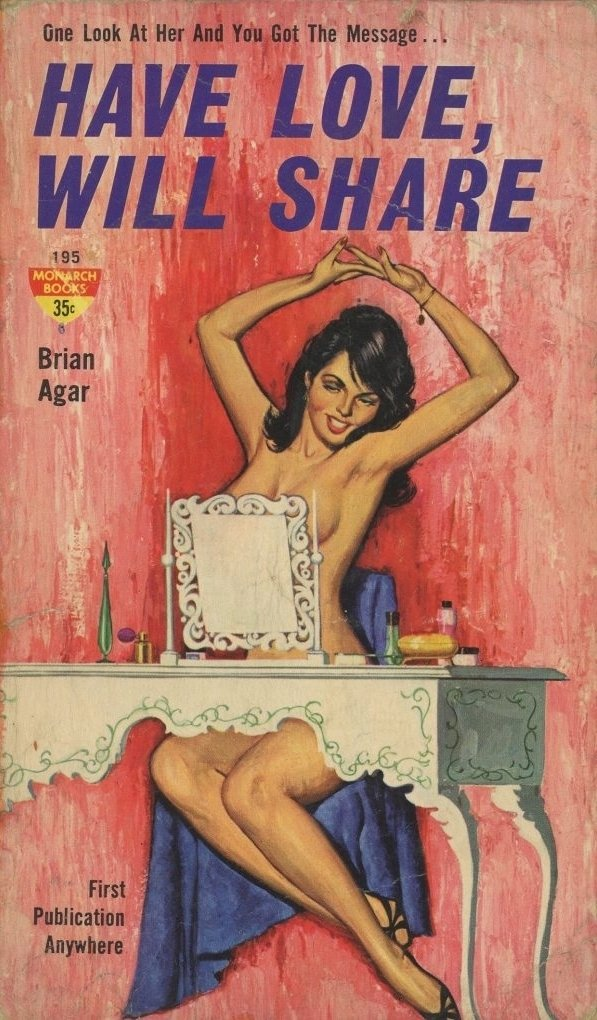 Have Love, Will Share Pulp Novel