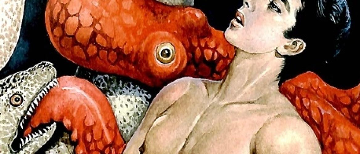 The Strange Erotica of the Japanese Illustrator Hayashi Gekko