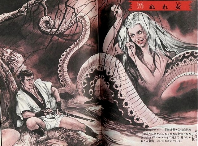 Hayashi Gekko octopus lady