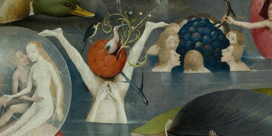 he Garden of Earthly Delights hiding erection