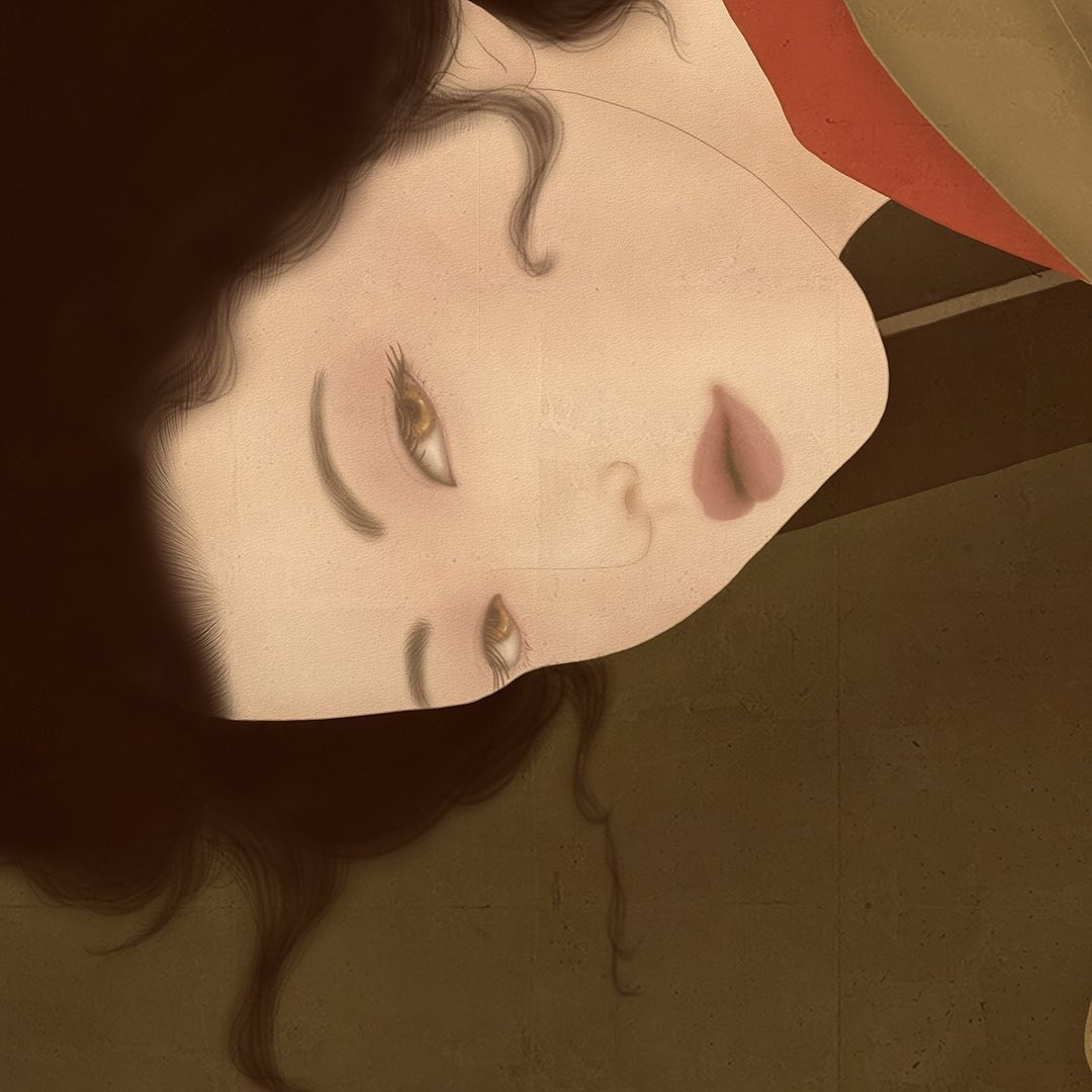 head close up Senju Shunga