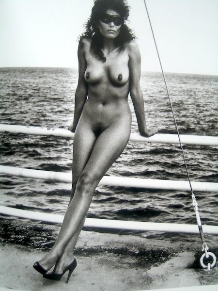 Helmut Newton nude photography