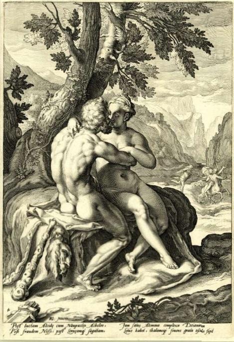 Hendrick Goltzius Heracles and Deianira