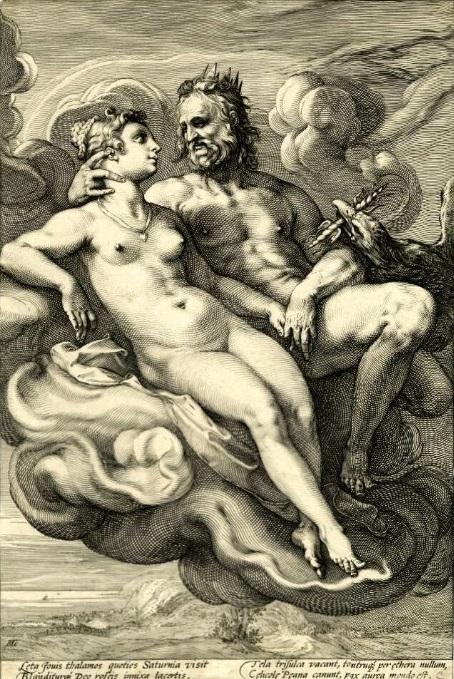 Hendrick Goltzius Jupiter and Juno