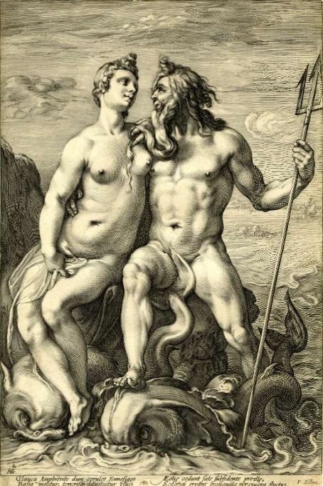 Hendrick Goltzius Neptune and Amphitrite