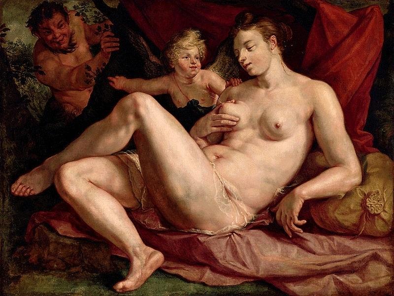 Hendrick Goltzius painting baroque
