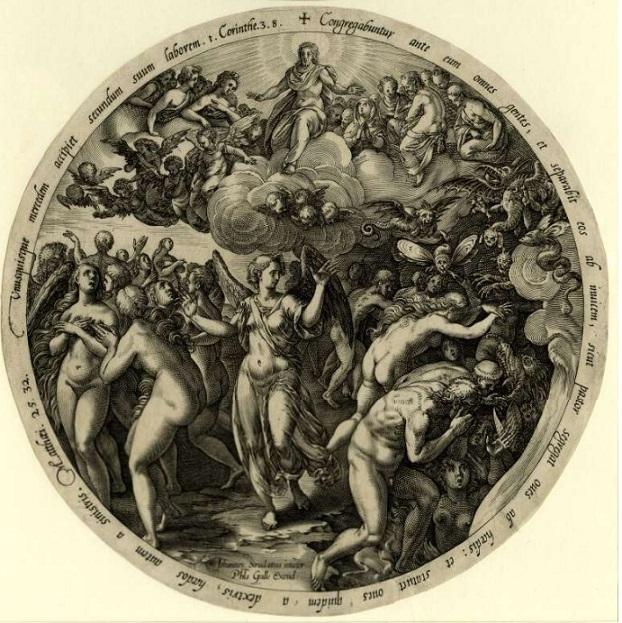 Hendrick Goltzius The Last Judgment