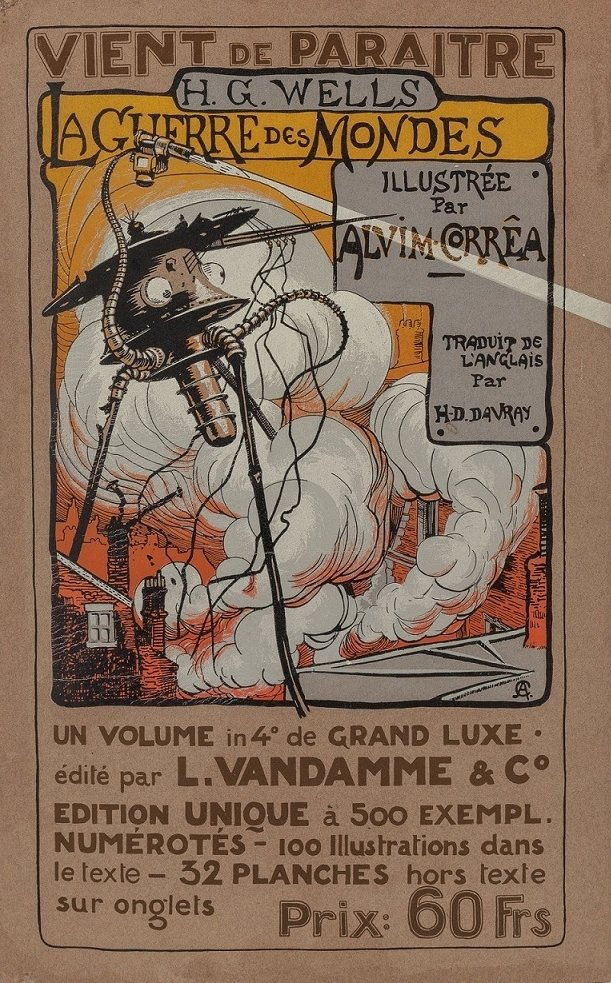 Henrique Alvim Corrêa Illustration for The War of the Worlds, by H. G. Wells