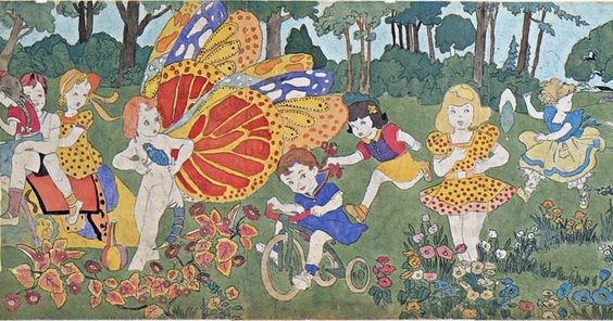 henry darger butterfly