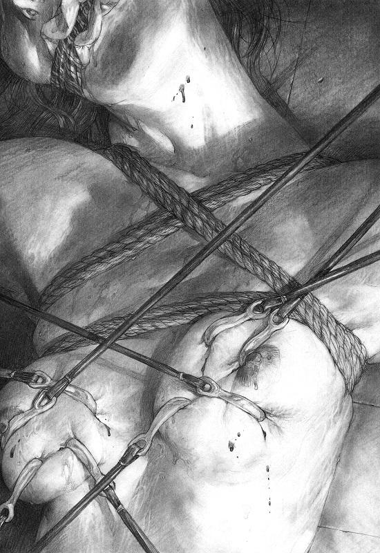 Hiroaki Samura bondage art