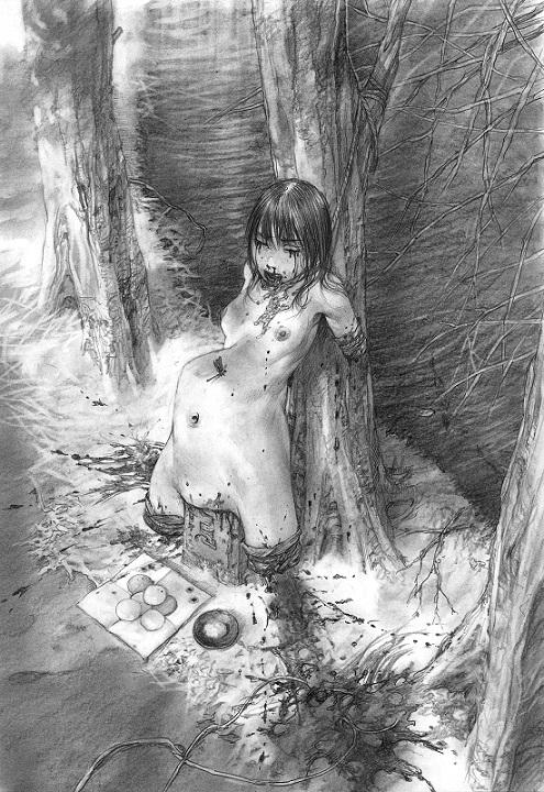 Hiroaki Samura kinbaku artist