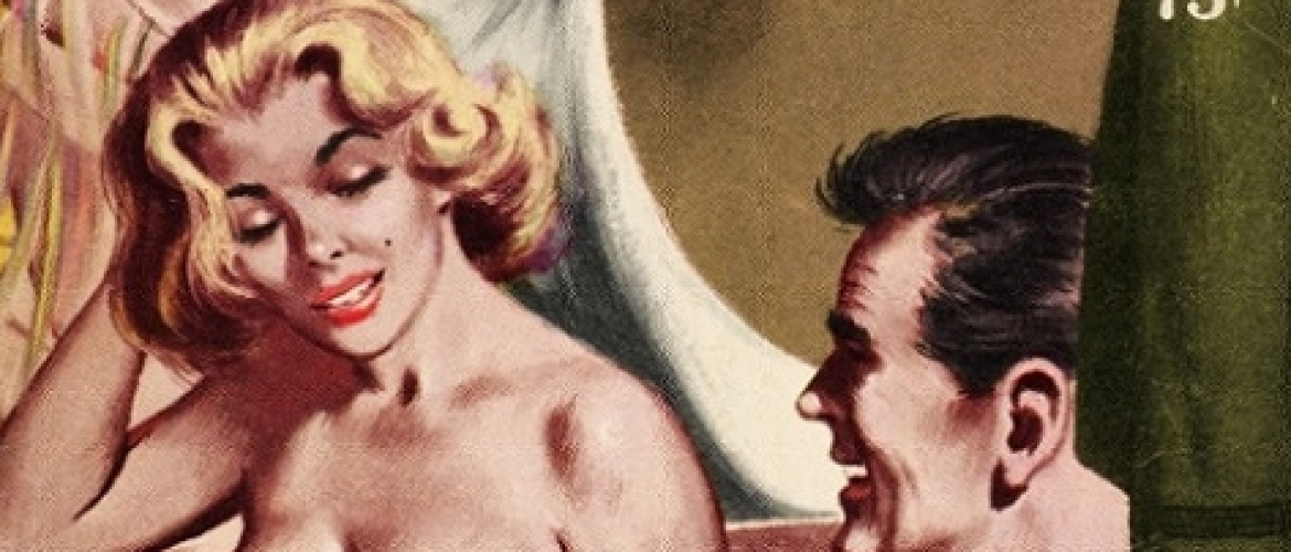 Top 40 Ways to Censor Female Nipples On Adult Books' Covers, Part One