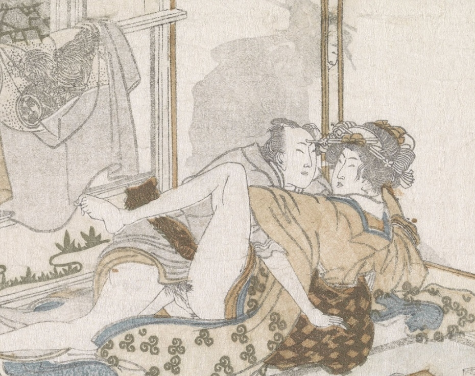 Hokusai egoyomi erotic