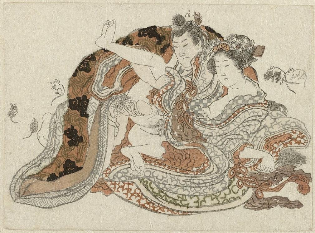 hokusai surimono