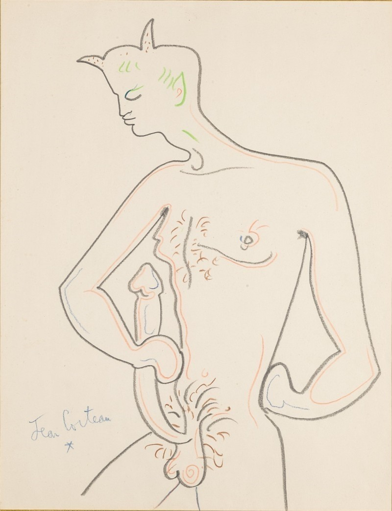 homoeroticism jean cocteau the faun