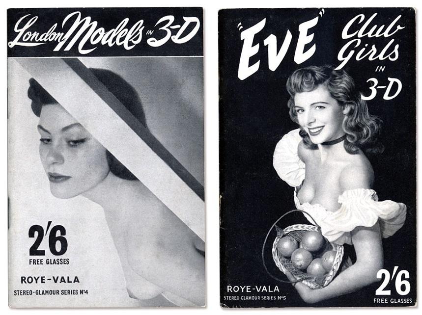 Horace Roye London Models 3-D; Eve Club Girls in 3-D