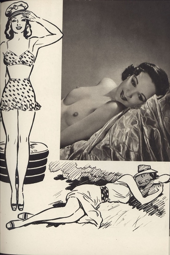 Horace Roye lying pin up