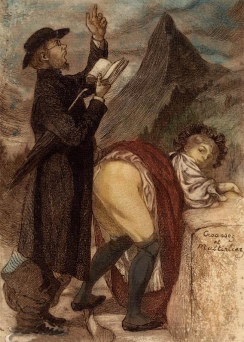 Horny priest 'De sceleribus et criminibus