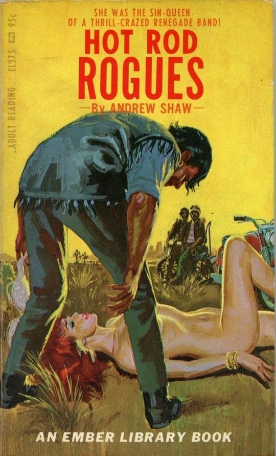 Hot Rod Rogues Pulp Novel