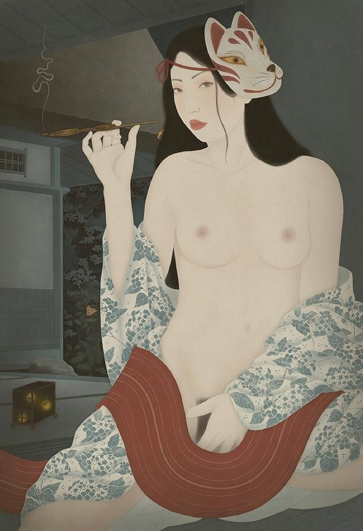 Hotaru Fireflies Senju Shunga