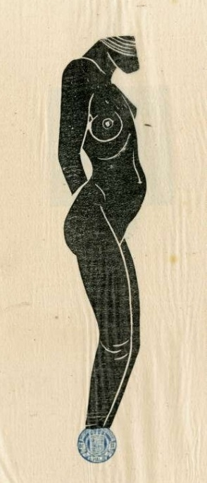 Hottentot by Eric Gill