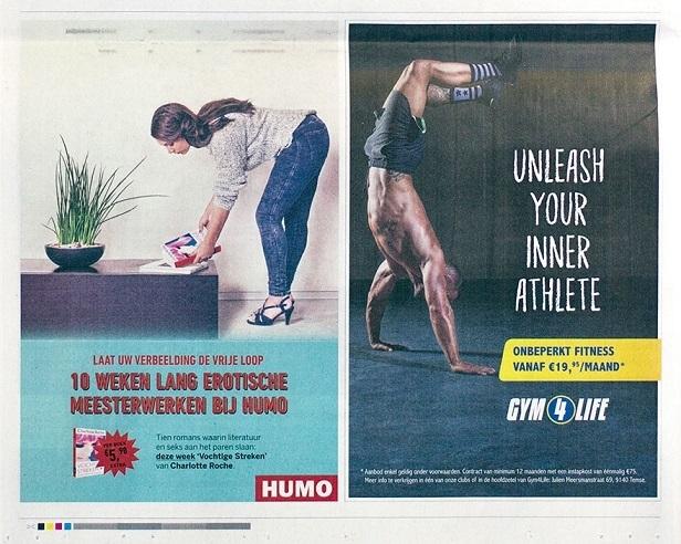 Humo Belgian magazine