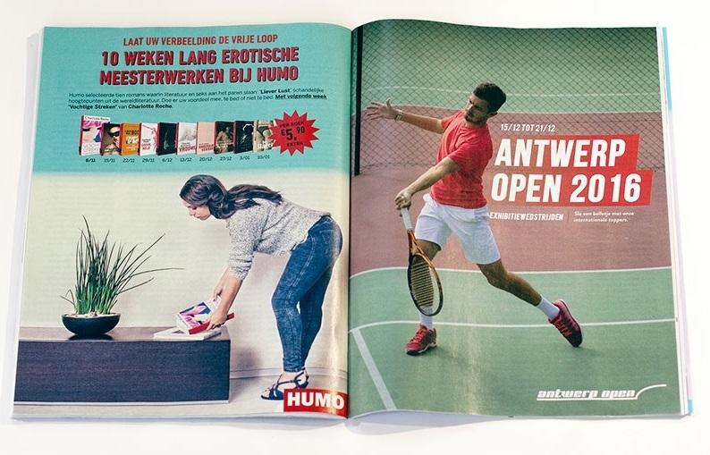 Humo magazine Djokovic