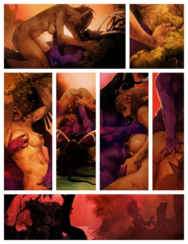 I Roved Out Erotic Comic
