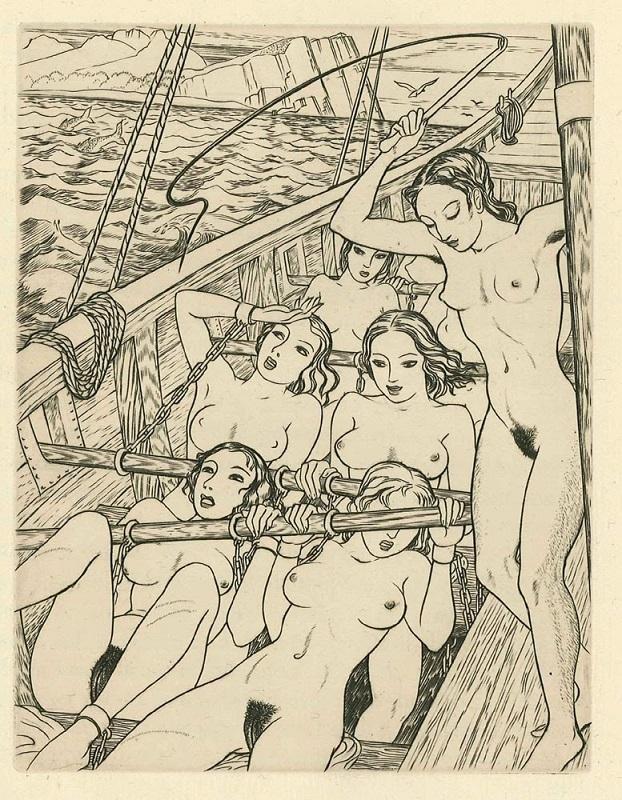 Illustration to Gautier's Mademoiselle de Maupin