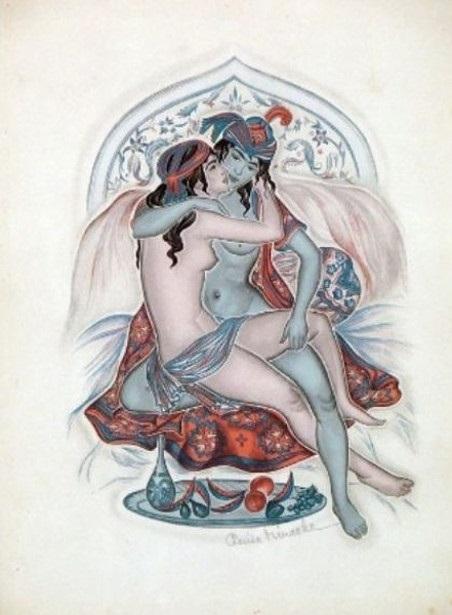 Illustration to Rubaiyat Genia Minache