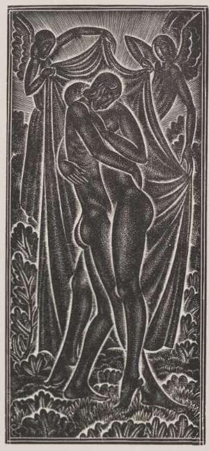 """In domiunium matris mea"""", Volume of Eric Gill"""