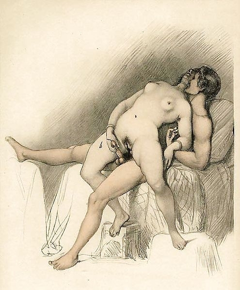 intimate couple in a chair geiger