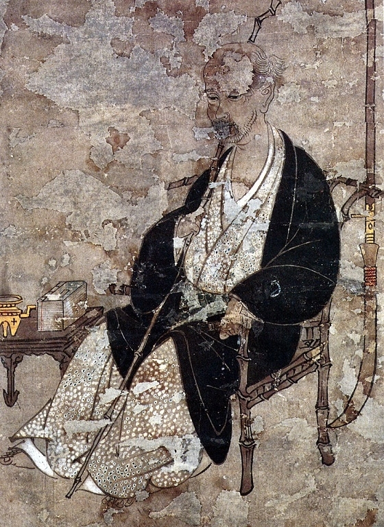 Iwasa Matabei self portrait