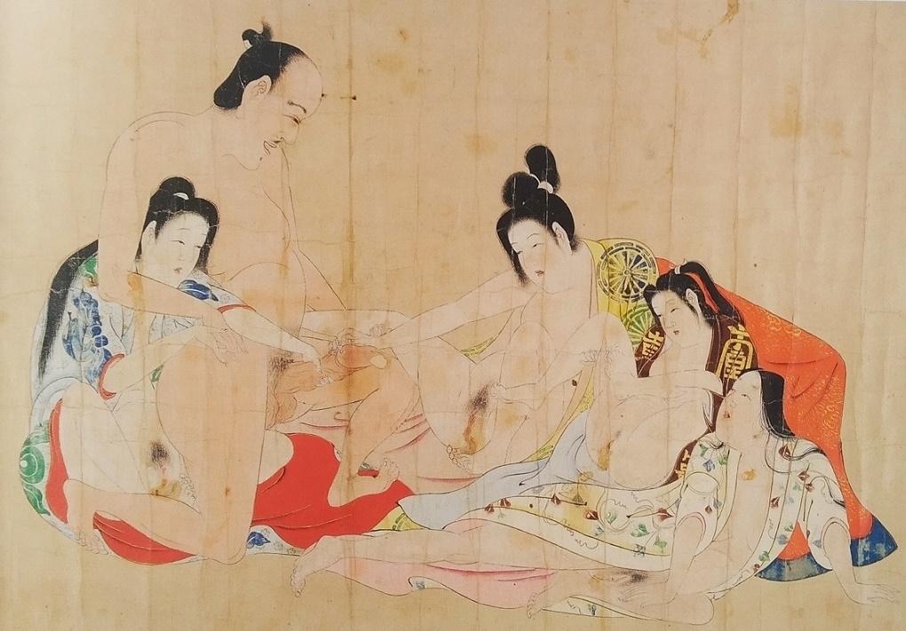 Iwasa Matabei shunga