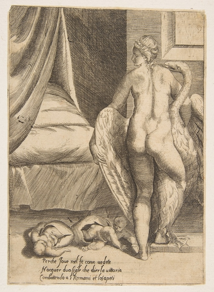 Ixion embracing a cloud, thinking it is Juno